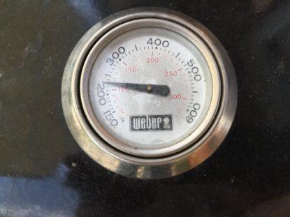 Temperaturanzeige des Grills